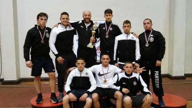 Dominacija Partizana na juniorskom prvenstvu države