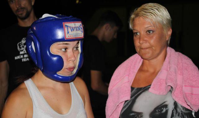 Pauzirala godinu i po, ušla u ring i osvojila turnir i titulu najboljeg borca!