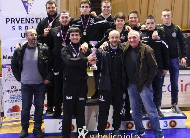 Trijumf mlađih seniora Partizana u Subotici