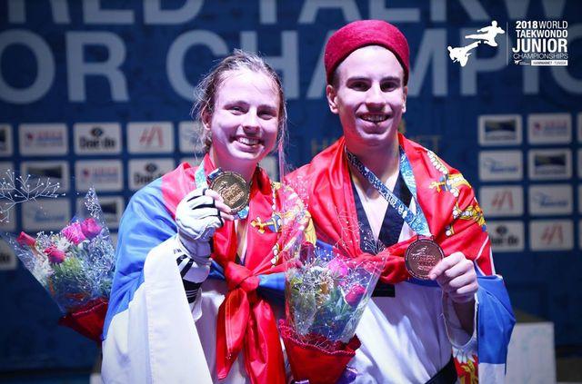 Dva zlata i bronza za srpske juniore na SP!
