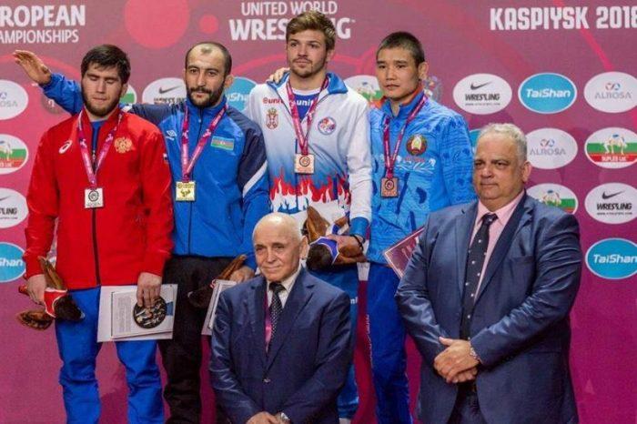 Istorijska medalja za Srbiju u rvanju