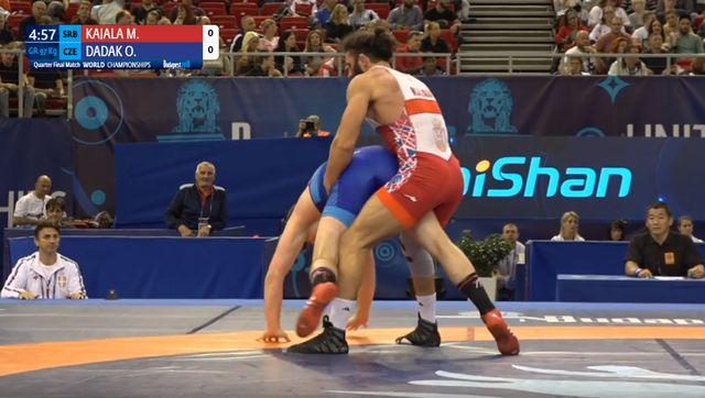 Kadžaja stao u polufinalu u nedelju za bronzu