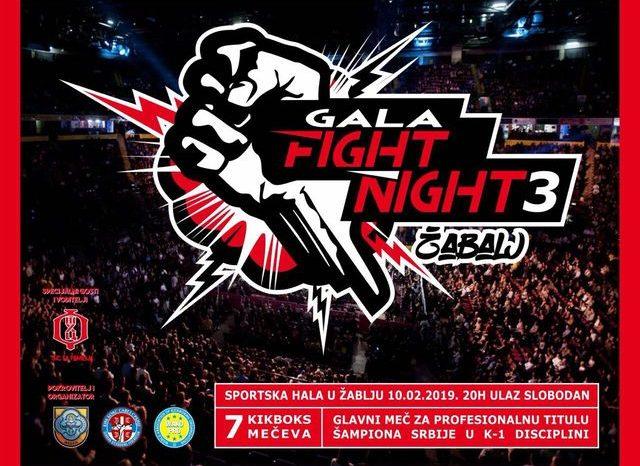 """Srbija dobija novu profesionalnu šampionku, u nedelju na """"Gala figh night 3"""""""