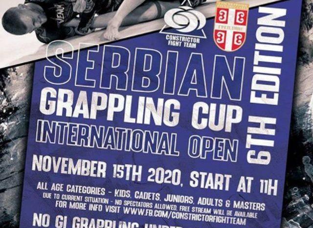 """Veliko interesovanje za Serbian grappling cup, prenos na """"Klinču"""""""